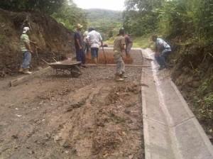 pavimento rígido en la Parroquia San José1