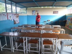 rehabilitacion de la escuela de Barrio2