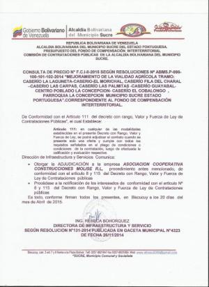 NOTIFICACION   II FCI CONSULTA