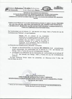 NOTIFICACION  X FCI CONSULTA