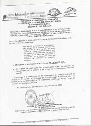 ADJUDICACION   UDCS IX