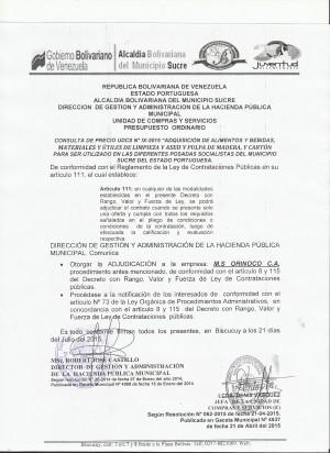 NOTIFICACION  IX UDCS
